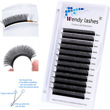 Y-Lashes Extensions Curl Natural Japanese-Style 10pcs C-D Soft Hand-Woven High-Quality