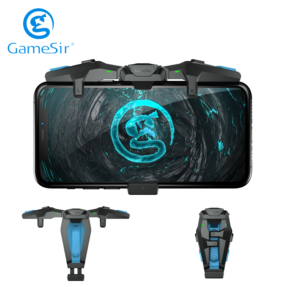 GameSir F4 Falcon Mobile Game Controller for iPhone iOS Android Real Plug and Play No Need Bluetooth or APP for COD PUBG image