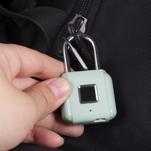 KERUI الذكية بدون مفتاح بصمة قفل لاسلكي بصمة فتح USB قابلة للشحن حقيبة أمتعة الباب قفل