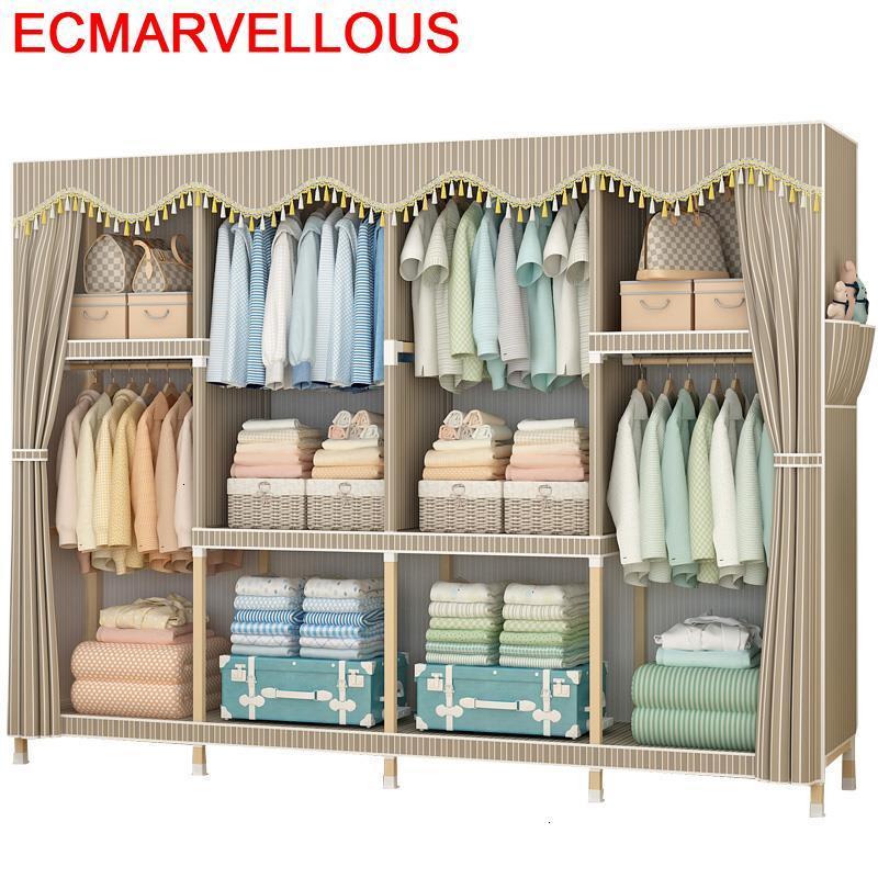 Armoire Armario Tela Rangement Chambre Moveis Para Casa Meble Home De Dormitorio Mueble Bedroom Furniture font