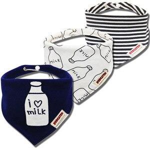 3 шт., органический хлопок, детский шарф, муслиновая ткань, бандана, нагрудники для новорожденных мальчиков и девочек, зимний шарф для малышей, водонепроницаемый нагрудник