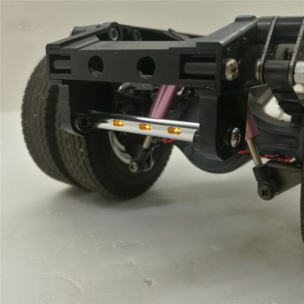Tail <font><b>Lights</b></font> Bar Guard Beam LED <font><b>Light</b></font> for 1/14 Tamiya Volvo 56360 Scania 56323 RC <font><b>Truck</b></font> Tractor Parts Accessories image