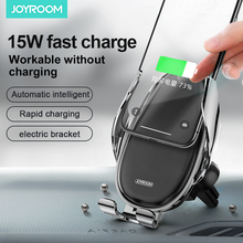 Joyroom Wireless charging mobile phone holder Car Phone Holder Air Vent For In magnetic for in car