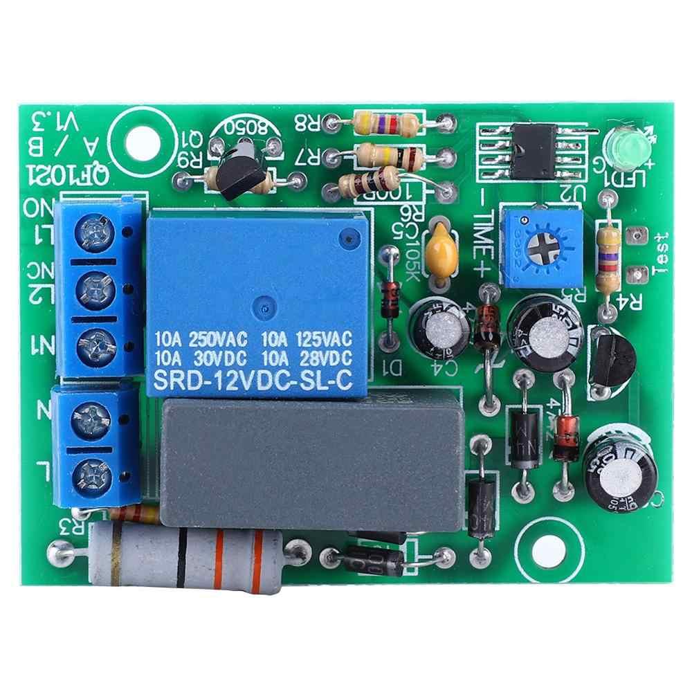 AC 220 V przekaźnik czasowy opóźnienia moduł przełączający wejście/wyjście opóźnienie moduł przełączający regulowany czas wyłącz płytę