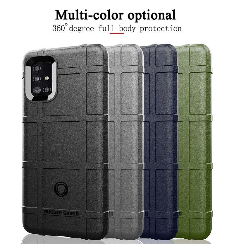 Чехол для Samsung Galaxy A10 A20 A30 A50 A70 A80 A90 M51 A51 A21 A21S A71 прочный волокно щит крышка для Samsung S30 A70 A10S A20S