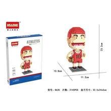 Diy баскетбольный идол модель игрока звезда мини Экшн фигурка