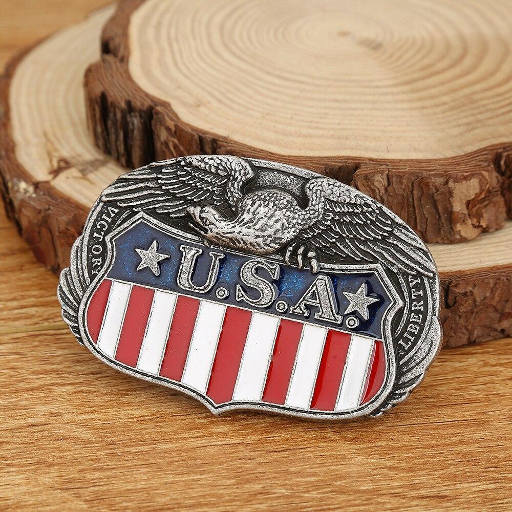Western Cowboy Belt Buckle American Eagle Novelty Personality Men And Women Belt Buckle