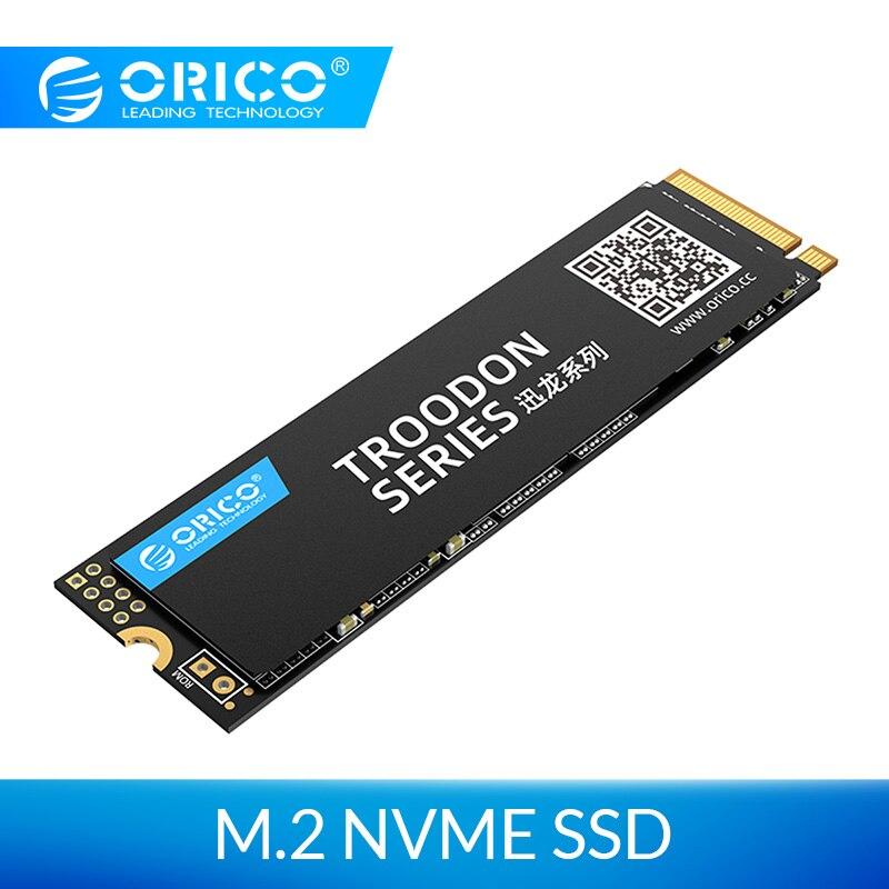 ORICO M.2 NVME SSD 128GB 256GB 512GB 1 to M2 PCIe M.2 2280 disque dur à semi-conducteurs interne NVME SSD pour ordinateur portable de bureau disque à semi-conducteurs