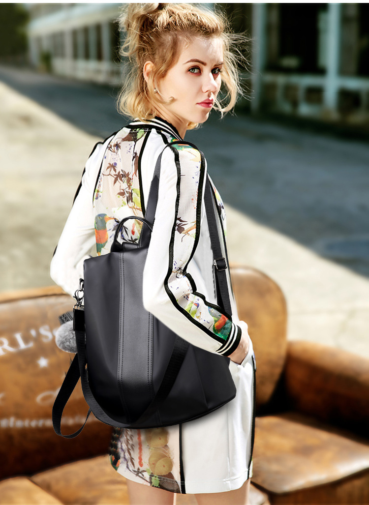 H343b6054ea3d428384073630db43bac3m 2019 Women Leather Anti-theft Backpacks High Quality Vintage Female Shoulder Bag Sac A Dos School Bags for Girls Bagpack Ladies