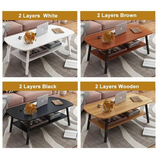 Wood Coffee Table 2