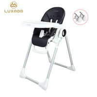 luxmom baby high chair chair feeding furniture Foldable High landscape foldable good safety performance