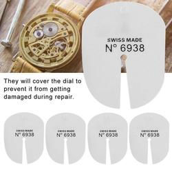 5pcs Watch Dial Protector for Removing Repairing Wristwatch Hands Watchmaker Tool l for watch repair parts tool kit