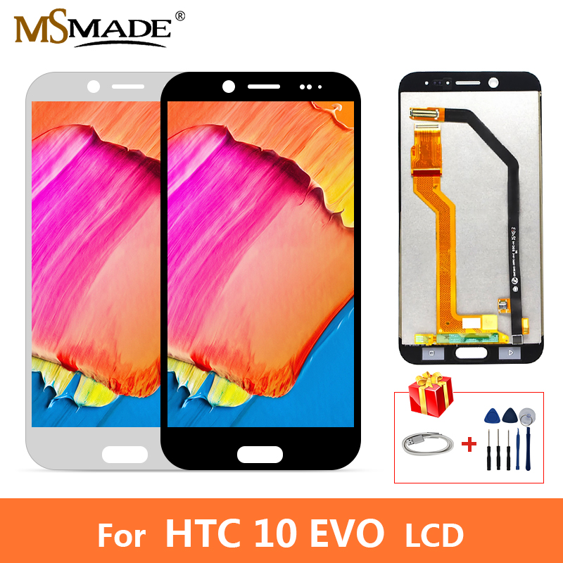 AAA Quality LCD For <font><b>HTC</b></font> <font><b>10</b></font> <font><b>EVO</b></font> Bolt LCD Display <font><b>Screen</b></font> Touch Digitizer Replacement Assembly Parts With Frame For <font><b>HTC</b></font> <font><b>10</b></font> <font><b>EVO</b></font> LCD image