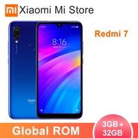 Global ROM Xiaomi Redmi 7 3GB 32GB Smartphone Snapdragon 632 Octa Core 4000mAh Battery 6.26 Full Screen 12+2MP Dual Camers