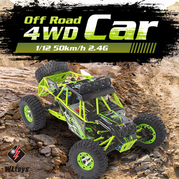Wltoys 1/12 12428 RC Car 50KM/H High speed RC Climbing Car Toy Scale 2.4G 4WD Off-road Vehicle Remote Control Car Toys Kids Gift