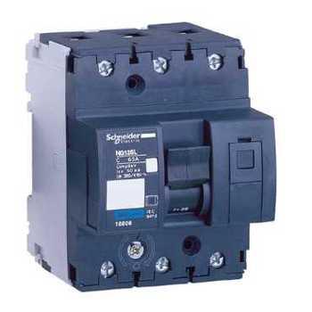 Multi 9 ng125l circuit breaker 3 p 25A (D) 18851