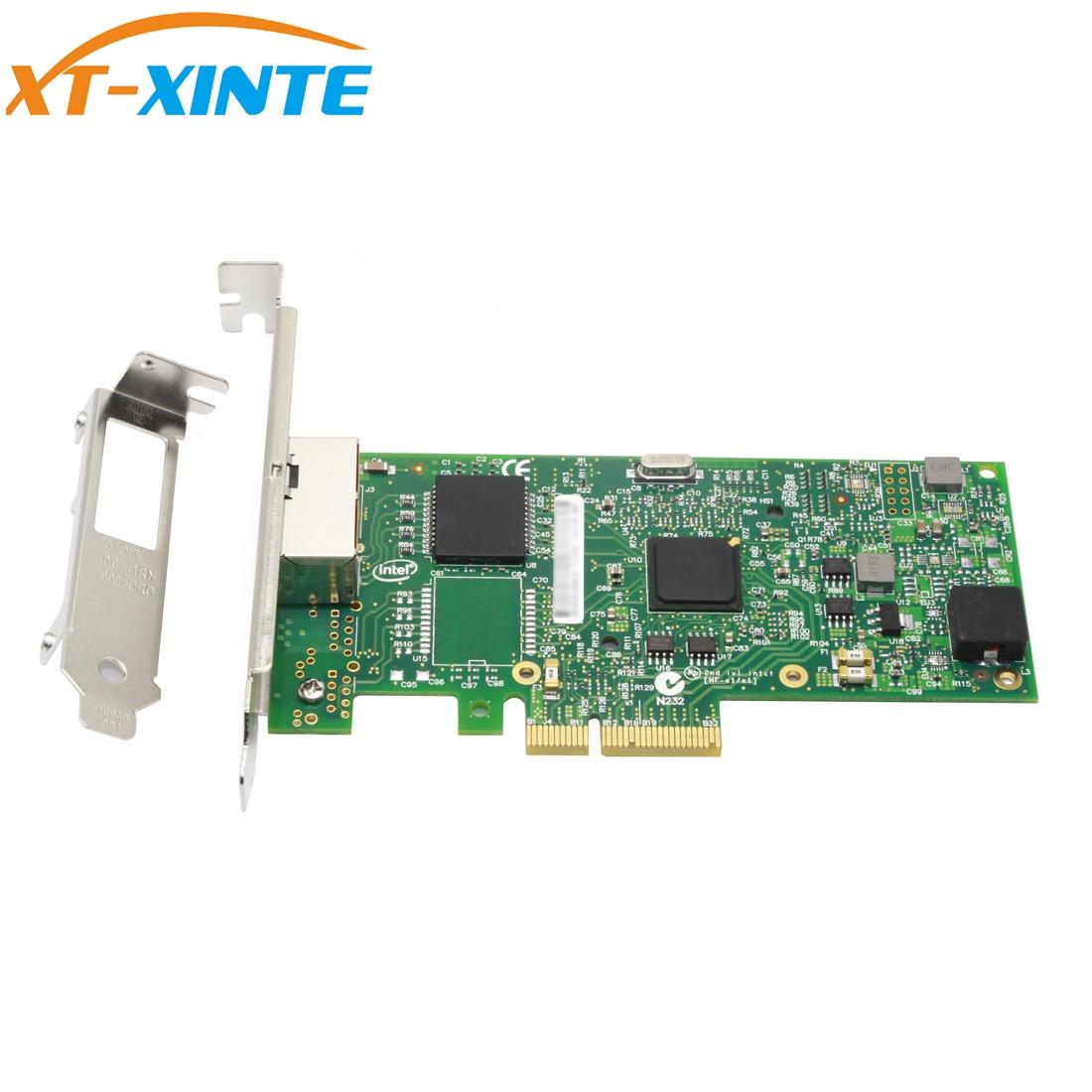 Placa de Rede Xt-xinte Porta Pcie Gigabit Ethernet Servidor Adaptador 10 – 100 1000 Mbps Intel I350 Chipset I350-t2 2