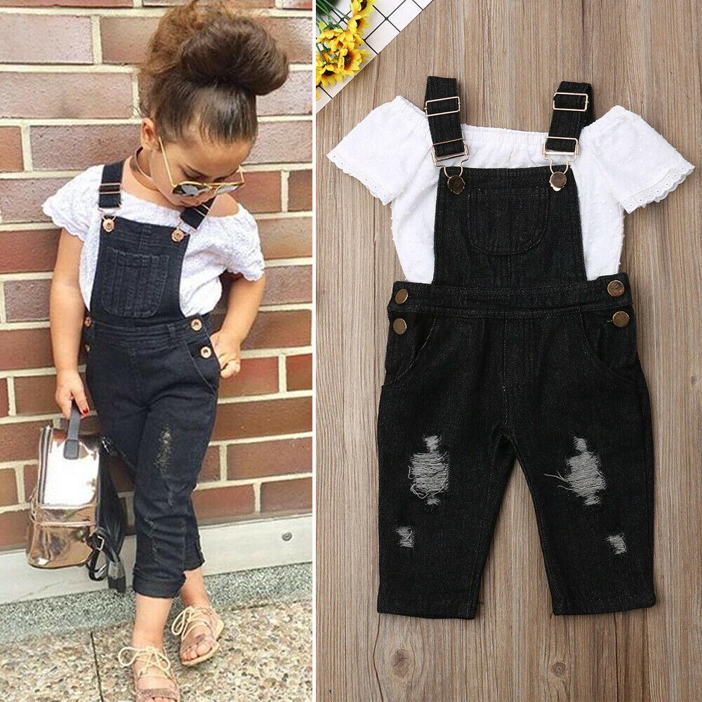 Baby Girls 2Pcs Outfits Fashion Clothes Set for 1-6 Years Little Kids//Toddler Leopard Print Ruffles T-Shirt Tops+Trousers