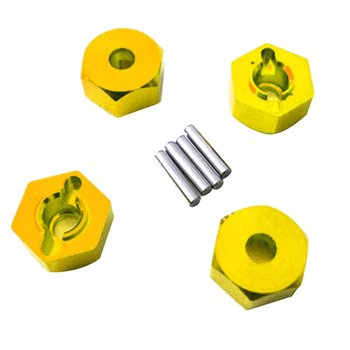 Compactly Designed Hexagon Wheel Seat Coupler For WLtoy K949 10428-A Four-wheel Climbing Car RC Cars Accessories image