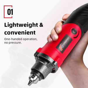 Image 3 - Tungfull 500W Engraver Dremel Electric Drill Handle Flexible Flex Shaft Fits handpiece Power Tool Dremel Style Rotary Tools