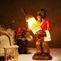 Промышленный стиль настольная лампа прикроватная лампа украшение для винной бутылки лампа для гостиной спальни кабинет бар стол