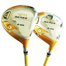 חדש גולף מועדוני HONMA S 03 4 כוכב גולף Fairway 3/5 עץ מועדון גרפיט פיר R או S גולף פיר עץ אפר Cooyute משלוח חינם