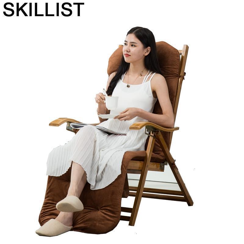 Sofa Floor Lazy Relax Cama Sillones Moderno Para Sala Folding Bed Sillon Reclinable Bamboo Fauteuil Salon Recliner Chair