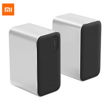 Original Xiaomi Bluetooth Computer Speaker Mi Bluetooth Speaker 12WDouble Bass Stereo Portable Table Aux DSP With Microphone LED