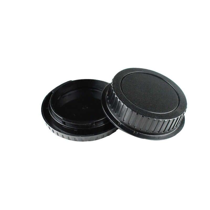 50 زوج/وحدة كاميرا غطاء الجسم الخلفي عدسة غطاء لكانون 1000D 500D 550D 600D EF EF-S المتمردين T1i eos كاميرا