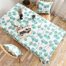 Printing Color European Style Household Birthday Party Tablecloth Cover Rectangular Waterproof Oilproof TeaTable Cloth