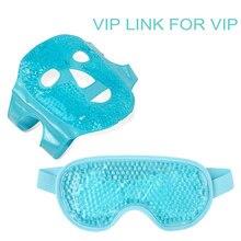 Livraison Directe Glace Gel Masque pour les Yeux Froids Chauds De Thérapie Masque de Sommeil pour les Maux de Tête, Les Cernes, Le Traitement Du Visage Outil de Soins De La Peau