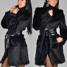 Abrigos mujer invierno зимнее пальто для женщин размера плюс, однотонное пальто с длинным рукавом и меховым воротником, на молнии, с карманами, куртка, chaqueta mujer