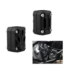 Dragonpad Motorcycle Motor Protection Guard Bumper Decorative Block Modified 25mm Shock Bar for BMW R1200GS LC ADV-F700GS F800GS