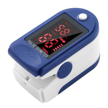 Portable Finger Pulse Blood Oximeter Oxygen Meter Clip Type SPO2 PR Pulsioximetro Heart Rate Health Monitor Tool Without Battery image