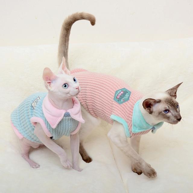 Cat Sleeveless Vest 3