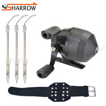 Slingshot Darts Fishing-Shooting-Set Hunting-Accessories Wristband Bows Catapult-Steel