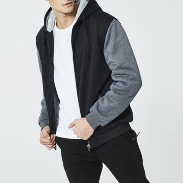 2021 Newset Men Coat Jacket Outwear Winter Slim Hoodie Warm Hooded Tracksuits Stylish Fashion Design Bursting Drop Ship 5XL 4