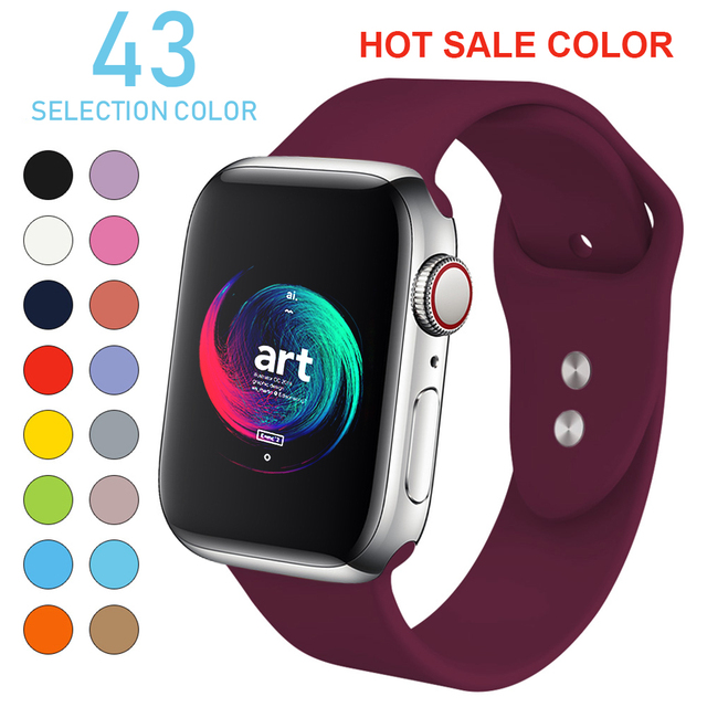 Soft Silicone  Apple Watch  For Watch Sports Edition