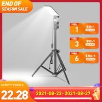 XANES 84 * LEDs 1680LM ajustable Lámpara LED de escritorio portátil linterna LED para acampada trabajo luz de la iluminación al aire libre para acampar lampara de noche dormitorio