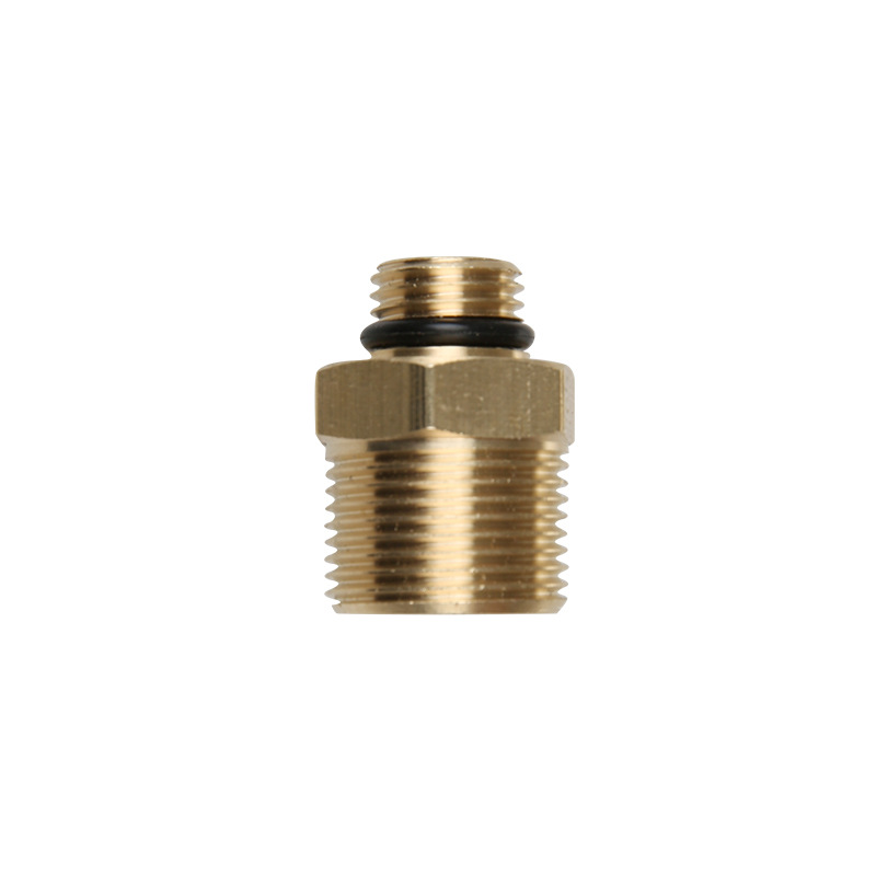 High Pressure Snow Foam Gun Foam Lance Connector Adapter With M22 Male Thread Copper For Himore Car Accessories