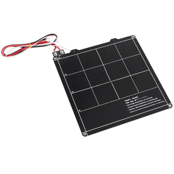 quente kit placa de ferro 235x235mm