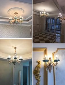 Image 5 - Modern Chandelier Lustre Crystal Chandeliers Kitchen Lamp LED Lighting Dining Room Crystal lights Living room chandeliers hotel