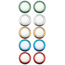 1 Pair Analog Joystick Rocker Protective Cap Thumb Stick Anti-Slip Grip Cover Replacement for PlayStation 4 PS4 Controller цены