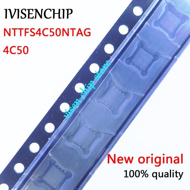 5 10 Uds. NTTFS4C50NTAG NTTFS4C50N 4C50N 4C50 QFN 8