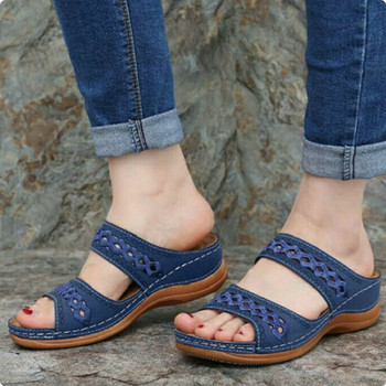 Summer Women Slippers Gladiator Casual Shoes Wedges Platform Beach Mules Ladies Slides Party Sandals Flip Flops Zapatos De Mujer woman beach flip flops fashion summer pom pom sandals high heel shoes footwear slippers wedges shoes flip flops ljb100