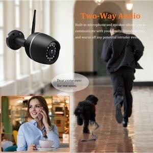 Image 4 - Wonsdar 1080P WIFI IP מצלמה חיצוני HD מתכת אלחוטי Wired Bullet אבטחת מצלמה מיני עמיד ראיית לילה P2P