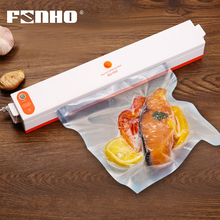 free shipping hot sale in russia 110v 220v portable electric food vacuum sealer machine with any plastic vaccum bag for peanut FUNHO Electric Vacuum Sealer Machine 220V 110V House Automatic Food Vacuum Packaging Machine With Vacuum Bag seladora a vacuo