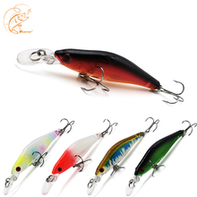 Thritop 2019 New Minnow Artificial Bait 6G 84MM 5 Different Colors TP041 High Quality Hard Lure For Fishing Wobblers