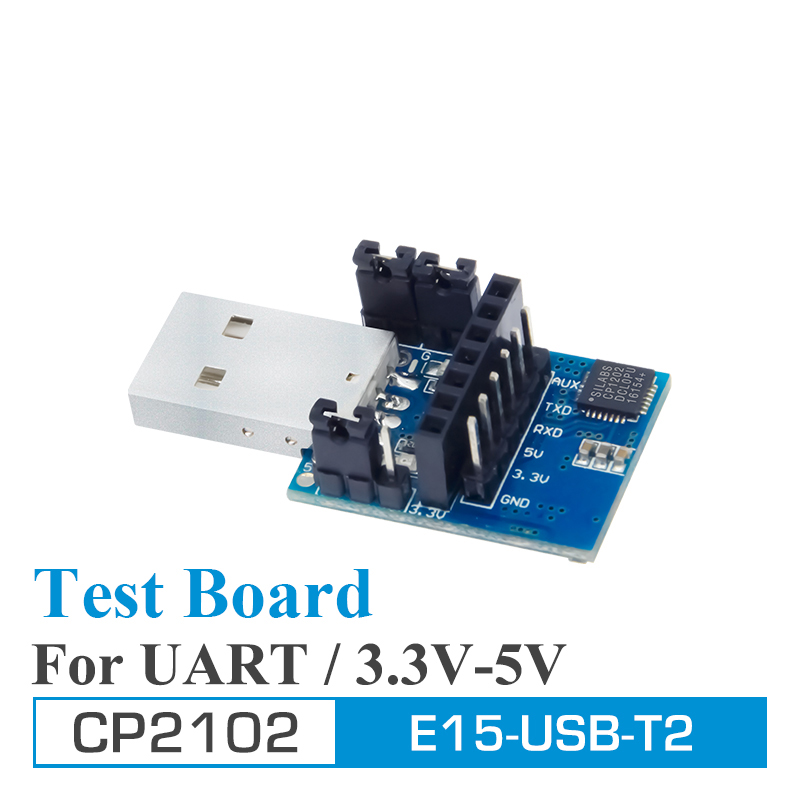 2pcs/lot Test Board USB UART CP2102 E15-USB-T2 Ebyte UART USB To TTL 3.3V 5V Wireless Adapter For RF Serial Module