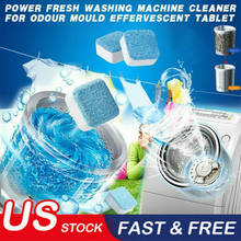 1/5/10/15 Pcs Wasmachine Cleaner Washer Reiniging Wasserij Zeep Wasmiddel Bruisende Tablet Washer Bad bom Cleaner(China)